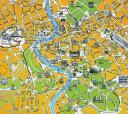Rom Centrum map